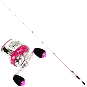 Kit Carretilha Sumax Lady 9000 Vara Sumax Ladies 1,80m 10-20lb Inteiriça