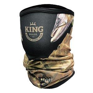 Bandana de Pesca King BKB01 Robaleiros Proteção Solar UV 30+