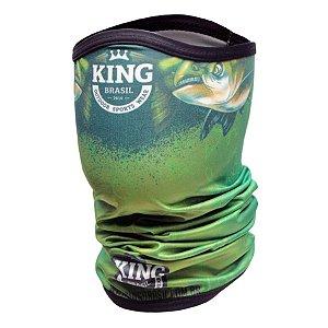 Bandana de Pesca King BKB02 Tambaking Proteção Solar UV 30+