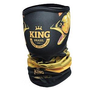 Bandana de Pesca King BDNVK07 Douradão Proteção Solar UV 30+