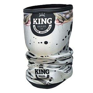 Bandana de Pesca King BDNVK11 Pintado Proteção Solar UV 30+