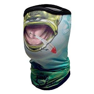 Bandana de Pesca King BDNVK12 Bocão Tucuna Proteção Solar UV 30+