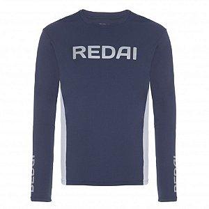 Camiseta de Pesca Redai Perfomance Team Azul