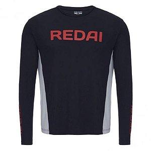 Camiseta de Pesca Redai Perfomance Team Preta