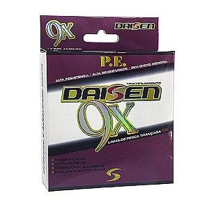 Linha Multifilamento Daisen 9X 0.25mm 45lb 20,5kg 150m