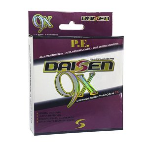 Linha Multifilamento Daisen 9X 0.20mm 33lb 15kg 150m
