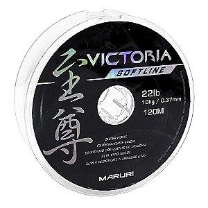 Linha Soft Victoria Maruri 0.37mm 22lb 10kg 120m Branca