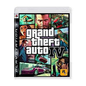 Grand Theft auto IV  Ps3- USADO