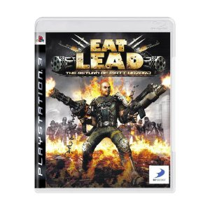 EAT LEAD The Return of Matt Hazard PS3 - USADO