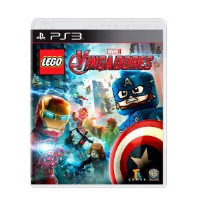 Lego Vingadores PS3 - USADO