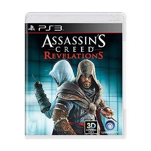 Assassins Creed Revelations PS3 - USADO