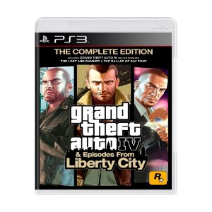 Grand Theft Auto IV & Episodes From Liberty city PS3 - USADO