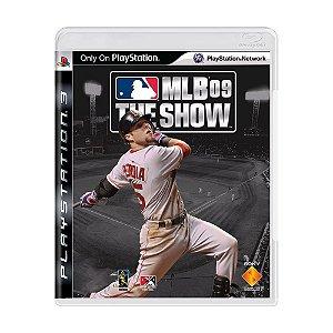MLB 09 The Show PS3 - USADO