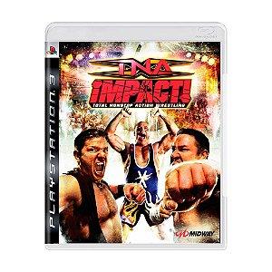 TNA Impact total nonstop action wrestling Ps3 - USADO