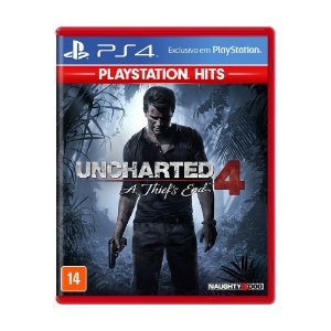 Uncharted 4 A Thief End PS4 Playstation Hits