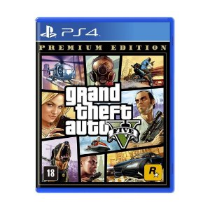 Grand Theft Auto V (GTA 5) PS4 Premium Edition