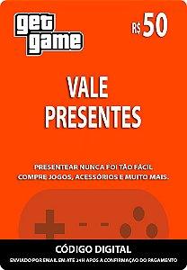 VALE PRESENTES R$50
