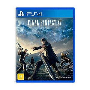 Final Fantasy XV PS4 - Usado