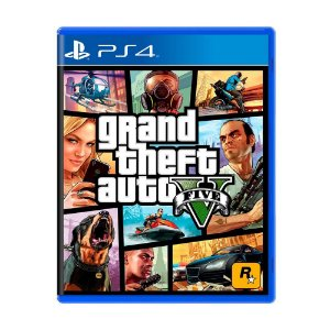 Grand Theft Auto V (GTA 5) PS4 - Usado