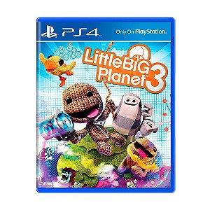 Little Big Planet 3 PS4 - Usado