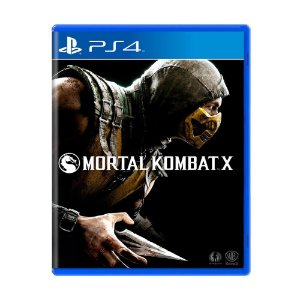 Mortal Kombat X  PS4 - Usado