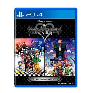 Kingdom hearts HD 1.5 + 2.5 Remix PS4 - Usado