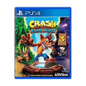 Crash Bandicoot N. Sane Trilogy PS4 USADO