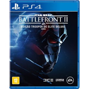Star Wars Battlefront  2 Edição Trooper de Elite Deluxe PS4