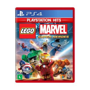 Lego Marvel Super Heroes PS4 Playstation Hits