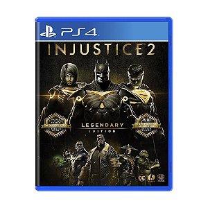 Injustice 2 Legendary Edition PS4 - Usado