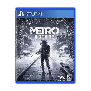 Metro Exodus PS4 - Usado