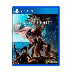 Monster Hunter: World PS4 - Usado