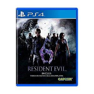 Resident Evil 6 PS4 - Usado