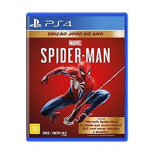 Marvel's Spider-Man (Edição Jogo do Ano) PS4