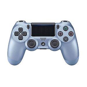 Controle Ps4 Azul Titânio - Dualshock 4
