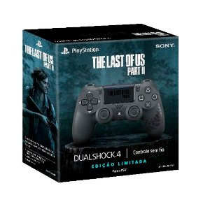 Dualshock 4 Edição Limitada The Last Of Us Part Ii