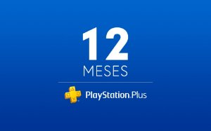 PSN PLUS 12 Meses - Cartão Virtual PlayStation Plus