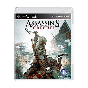 Assassins's Creed 3 PS3 - USADO