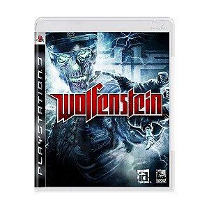Wolfenstein PS3 - USADO