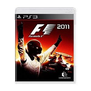 F1 2011 PS3 - USADO
