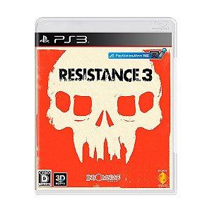 Resistance 3 - PS3 - USADO