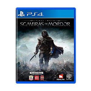 Sombras de Mordor  PS4 - USADO