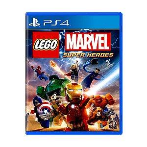 LEGO Marvel Super Heroes PS4 - Usado