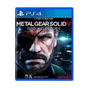 Metal Gear Solid V: Ground Zeroes PS4 - Usado