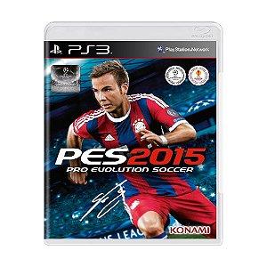 Pes 2015 PS3 - USADO