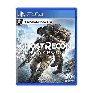 Tom Clancys Ghost Recon Break Point Ps4- USADO