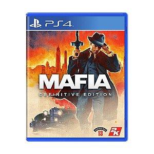 Mafia Definitive Edition Ps4- USADO