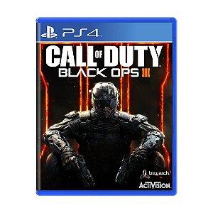call of duty blak ops 3 Ps4 - Usado
