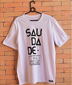 """Camiseta """"Saudade"""""""