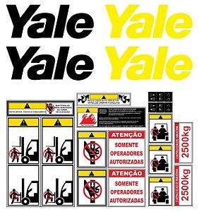 Kit De Adesivos Para Empilhadeiras Yale R25